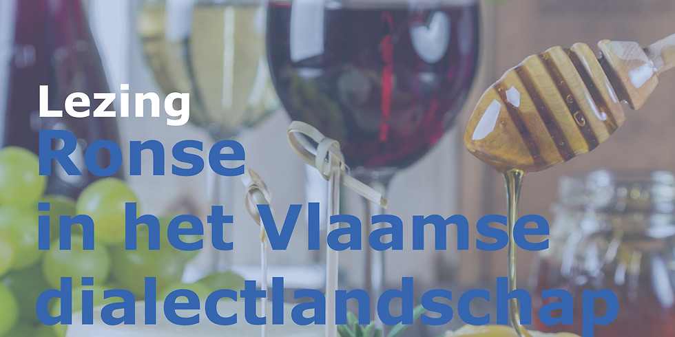Ronse in het Vlaamse dialectlandschap - Jacques Van Keymeulen