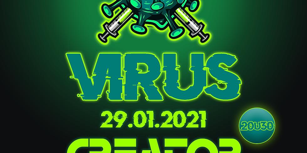 BEAT THE VIRUS - DJ CREATOR - LIVESTREAM