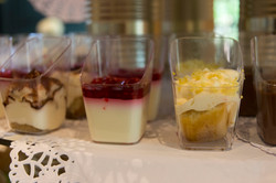 Assortiment desserts