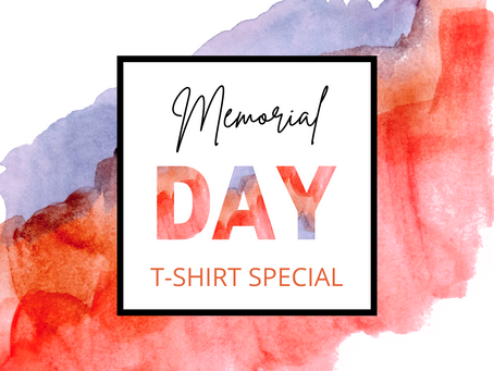 Memorial Day Parade T-Shirt Special