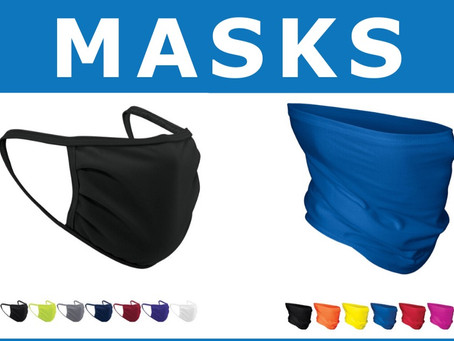 Safety and Comfort- Sports Corner Elite Now Offering Face Masks