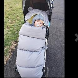 Our 3 seasons stroller footmuff