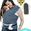 Thumbnail: baby wrap carrier and bib
