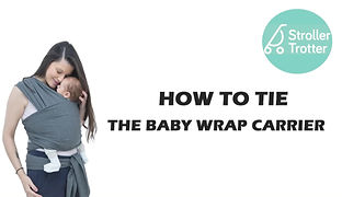 how to tie the Stroller Trotter baby wrap