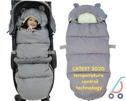 Baby to toddler stroller footmuff