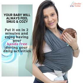 Hands free baby sling