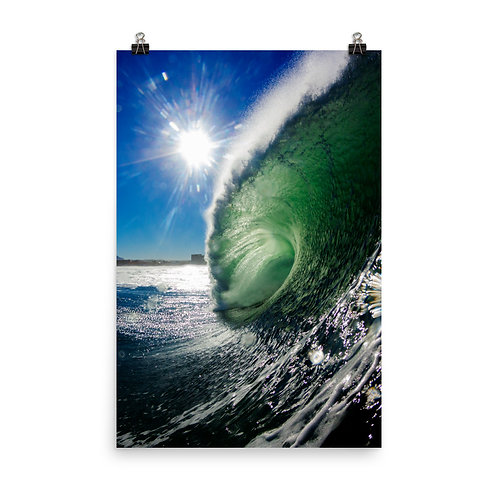 The Green Room - Photo paper poster