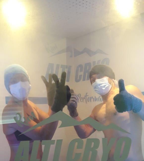 Cryothérapie Corps Entier Duo