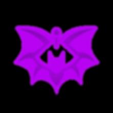 DJ Lisa Batsinger's Singing Bat Logo