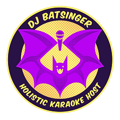 Lisa Batsinger's Singing Bat Logo
