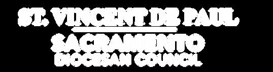 SVDP Logo - white