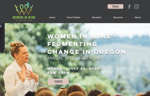 Women in Wine - Oregon