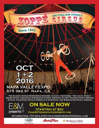Zoppe Italian Family Circus - 2016 Promo