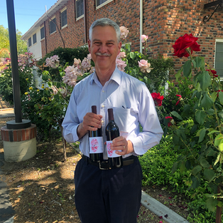 Eric Kindall - winner of the case of Fiore Family wine