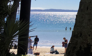 Noosa in winter