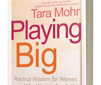 Playing Big: Practical Wisdom for Women Who Want to Speak Up, Create, and Lead written by Tara Mohr