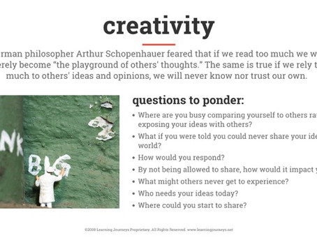 Simple Steps to Creativity