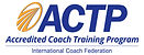 ACTP accredited coaching certification