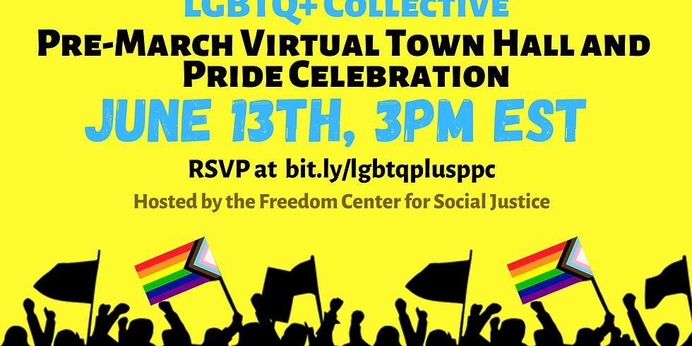LGBTQ+ Town Hall & Pride Celebration