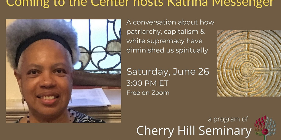 Cherry Hill Seminary Hosts Katrina Messenger