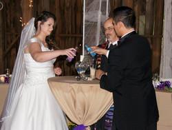 Thompson-Cobb wedding