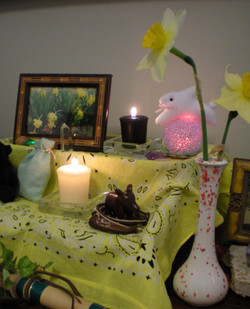 Pagan Sabbat Altars