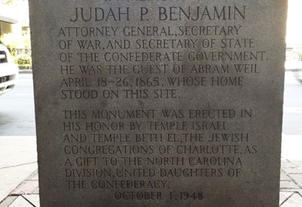 Jewish Connection to Confederate Marker Inspires Letter