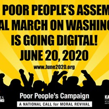 Poor People's Assembly & Moral March on DC