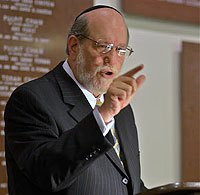 Only Jews and Christians Welcome in Rabbi Spero's America