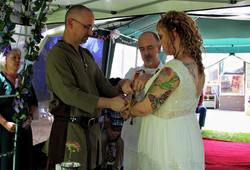 Sizemore-Amick wedding