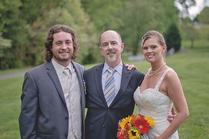 Rev Wes Isley wedding minister