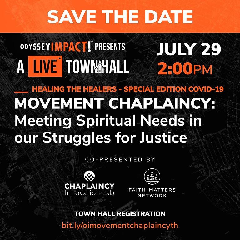 Movement Chaplaincy Town Hall