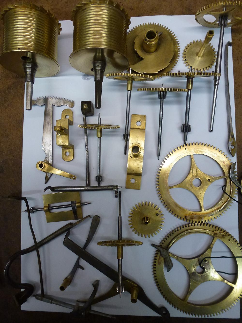 Longcase Clock Parts