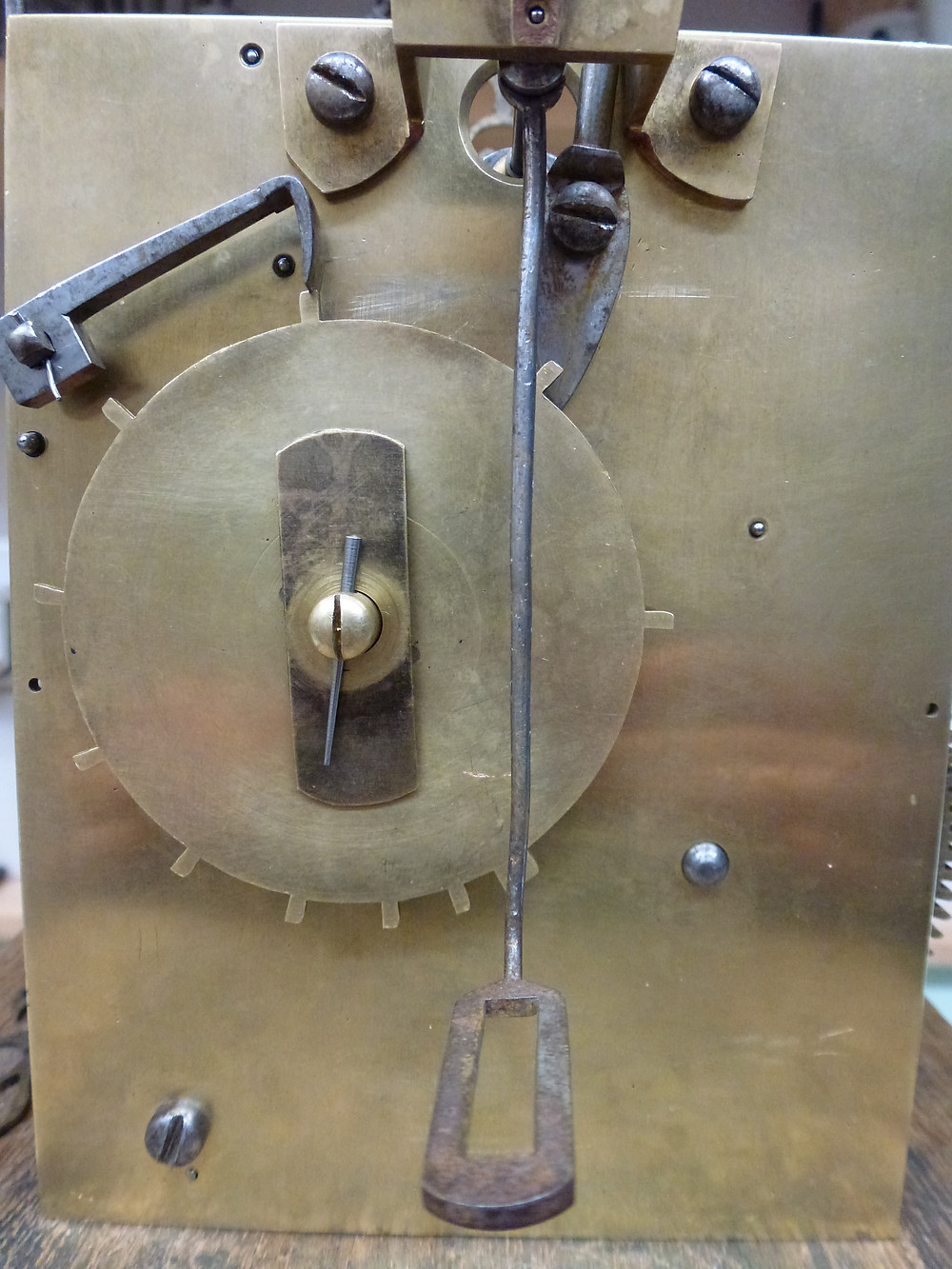 Longcase Clock and Count wheel