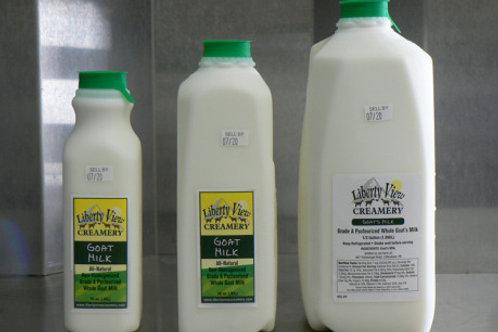 Goat Milk Pints and Quarts