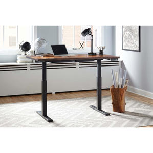 Adjustable Metal Sheesham Desk