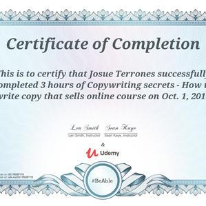 Udemy Certified