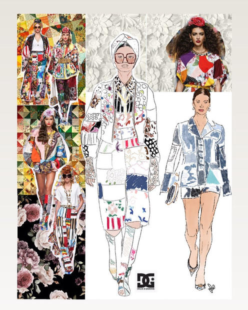 Dolce and Gabbana Women's SS21 collectio