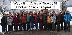Week-End Autrans Nov 2019 Photos Videos