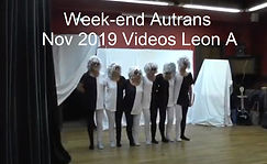 Week-End Autrans nov 2019 Videos Leon A.