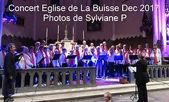Concert Eglise de La Buisse Dec 2017 Pho
