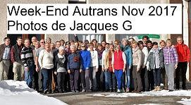 Week-End Autrans Nov 2017 Photos de Jacq
