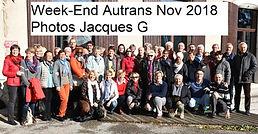 Week-End Autrans Nov 2018 Photos Jacques