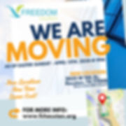 Copy of Moving Announcement Flyer - Made
