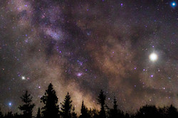 The Milky Way at the Grotto, Tobermory