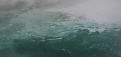 Foaming, misty water pools, Niagara