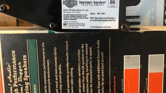 HARLEY DAVIDSON BOOM FAIRING AMPLIFIER