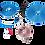 Thumbnail: MEMPHIS AUDIO 10 GAUGE AMP WIRING KIT