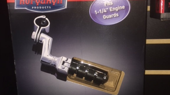 """KURYAKYN SM ISO PEGS W/OFFSETS & 1-1/4"""" CLAMPS"""