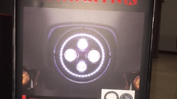 "KURYAKYN ORBIT VISION 7"" LED HEADLIGHT"